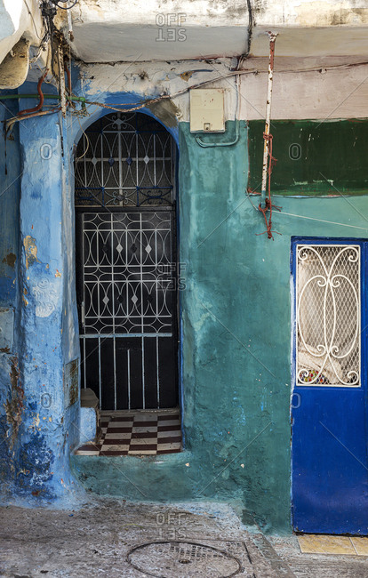 Streets, corners, details and corners of . Doors, windows, typical architecture Arabic