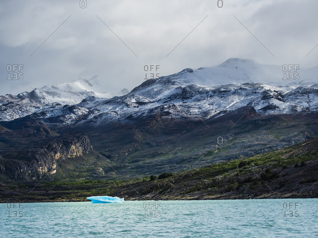 Argentina- Patagonia- El Calafate- Puerto Bandera- Lago Argentino- Parque Nacional Los Glaciares- Estancia Cristina