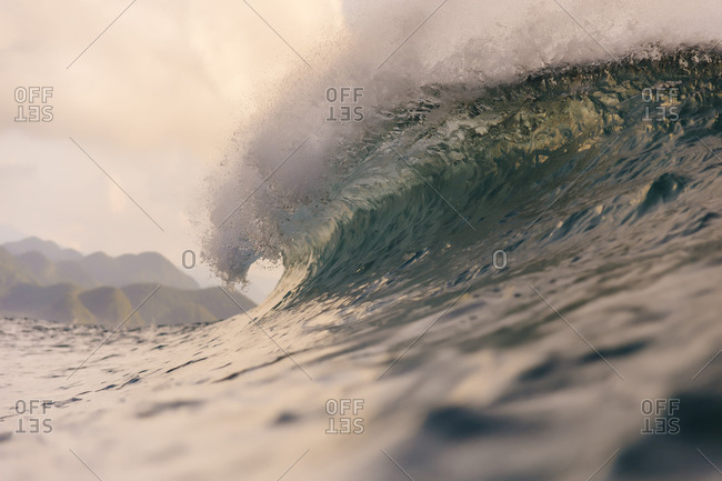 Indonesia- Sumatra- big wave