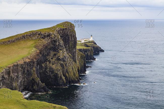 United Kingdom- Scotland- inner Hebrides- Isle of Skye- Neist Point- lighthouse