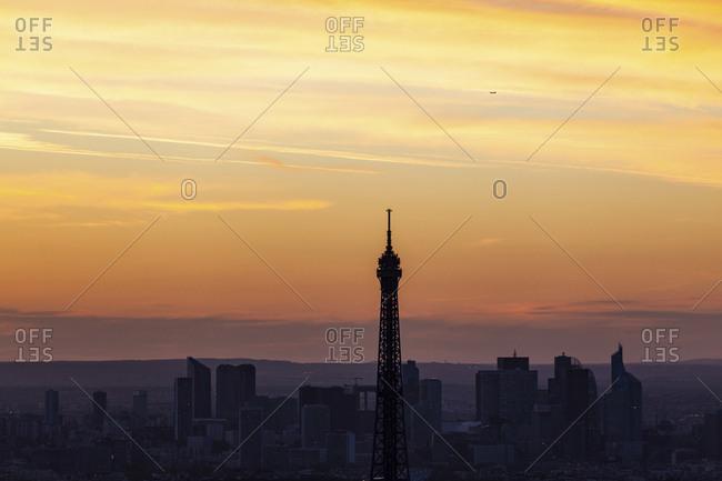 France- Ile-de-France- Paris--Eiffel Tower - Offset