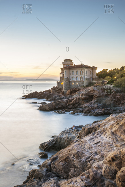 Boccale Castle is a large manor rising in Livorno, south of the Antignano district, Tuscany, Italy