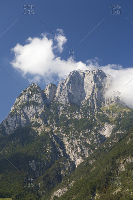 Kanin Mountains or Canin Mountains in Western Julian Alps, Bovec, Triglav, Slovenia