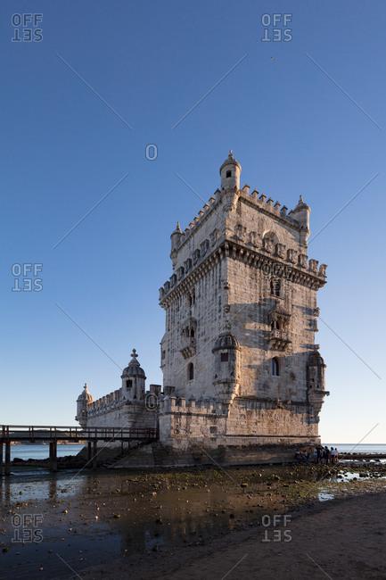Tower of St Vincent, Lisbon, Portugal