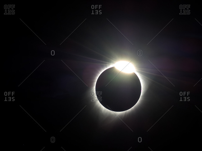 Total eclipse on August 21, 2017