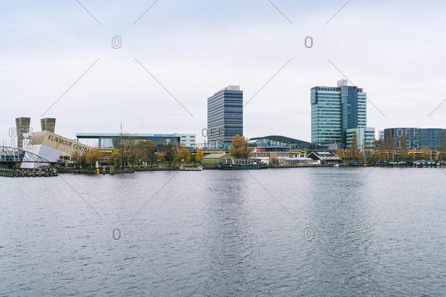 Amsterdam, Netherlands - November 21, 2016: Concert hall- Passenger Terminal Amsterdam