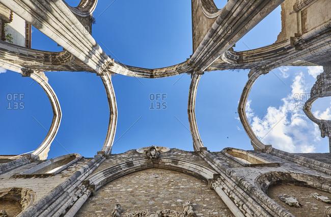 Portugal- Lisbon- Convento do Carmo