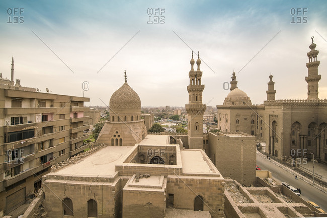 Egypt- Cairo- Al Mahmoudeya Mosque- Al Rifai Mosque- Sultan Hassan Mosque- The Citadel