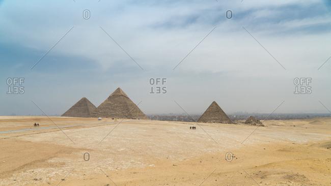 Egypt- Giza- Giza pyramid complex