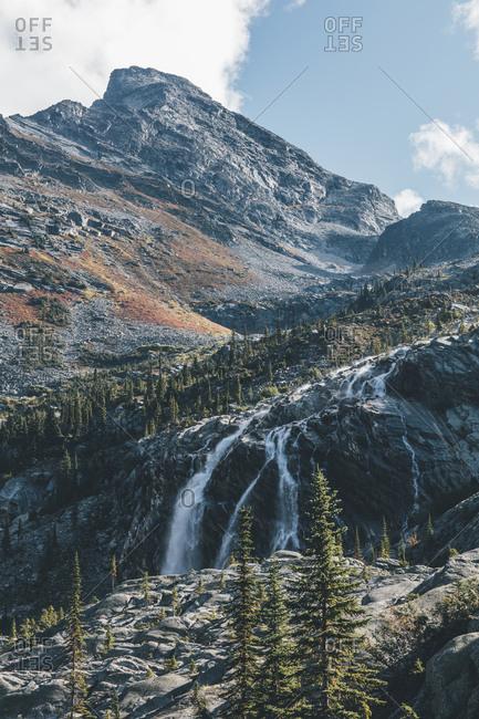Canada- British Columbia- Columbia-Shuswap A- Glacier National Park- Sir Donald Peak
