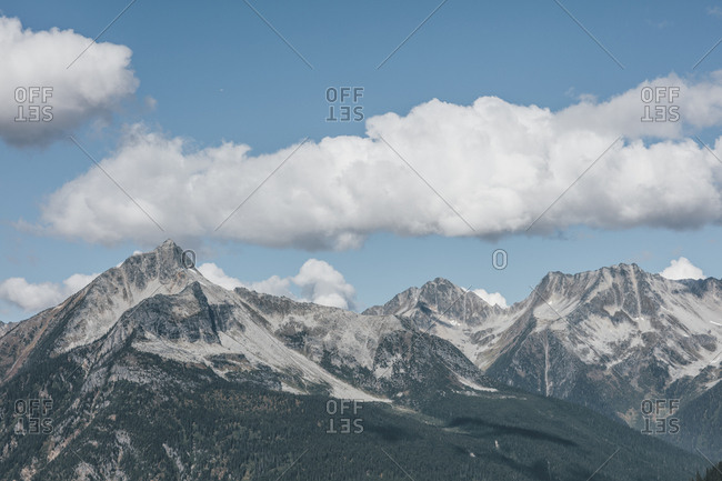 Canada- British Columbia- Canadian Rockies- Glacier National Park