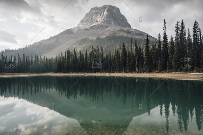 Canada- British Columbia- Yoho Lake- Yoho National Park- Wapta Mountain- Rocky Mountains