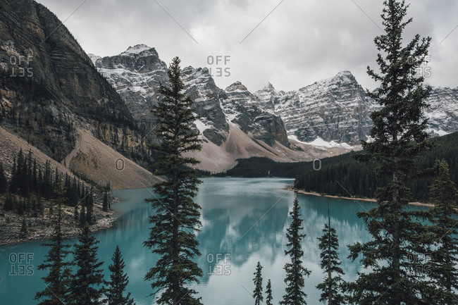 Canada- Alberta- Valley of the Ten Peaks- Banff National Park- Moraine Lake