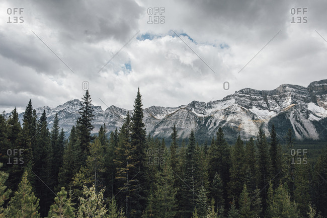 Canada- Alberta- Banff National Park- Valley of the Ten Peaks- Rocky Mountains