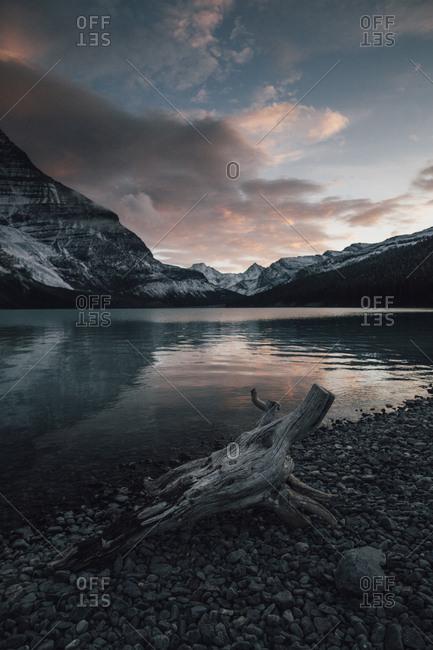 Canada- British Columbia- Mount Robson Provincial Park- Fraser-Fort George H- Berg Lake- Berg Glacier- Mist Glacier