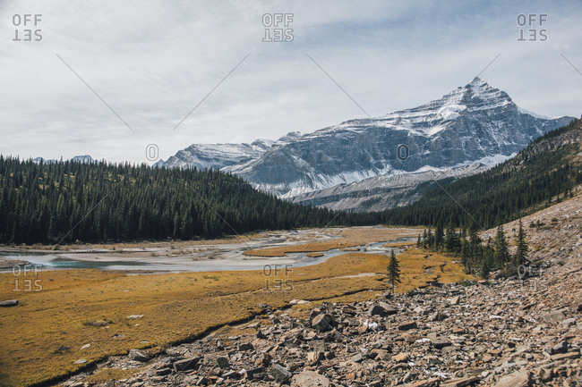 Canada- British Columbia- Rocky Mountains- Mount Robson Provincial Park- Fraser-Fort George H- Robson River