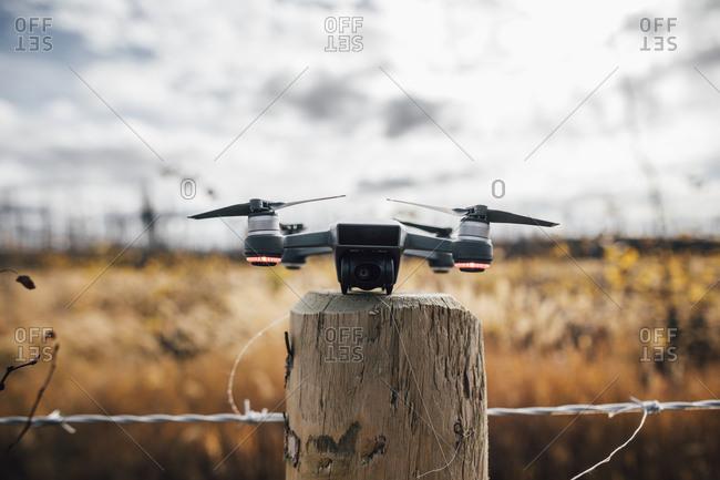 Canada- British Columbia- drone