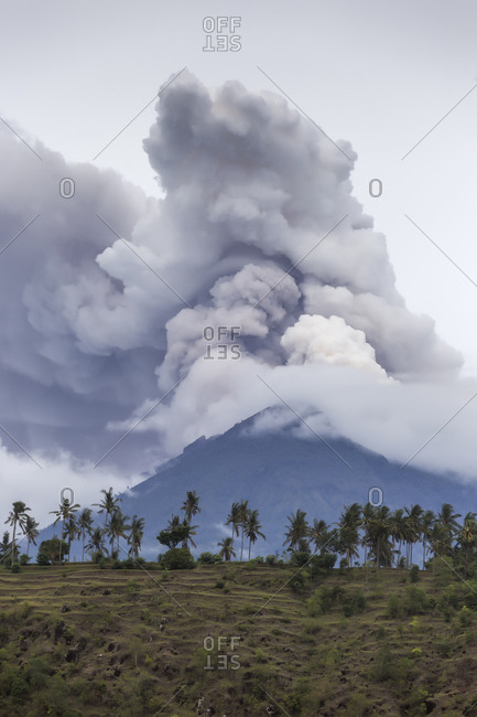 Indonesia- Bali- Volcano Agung