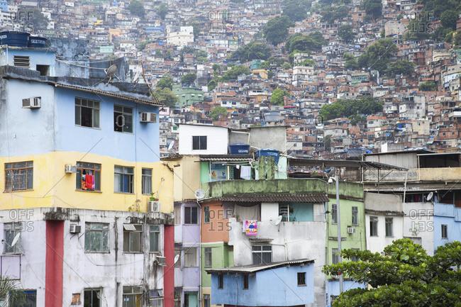 April 6, 2018: Favelas; Rocinha, Rio De Janeiro, Brazil