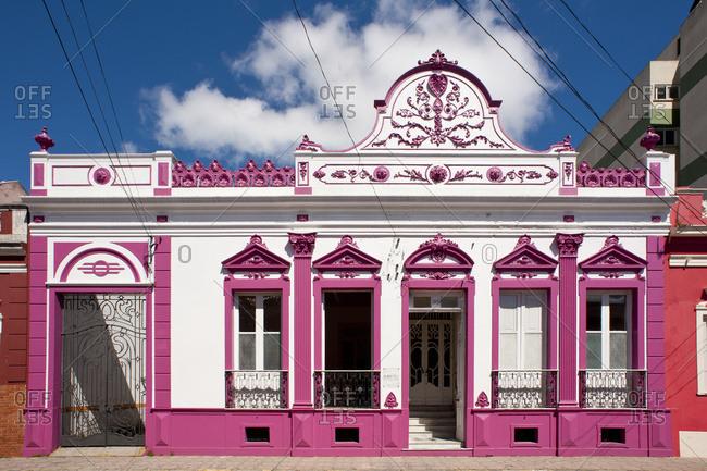 April 6, 2018: Colonial Architecture In Pelotas, Rio Grande Do Sul, Brazil