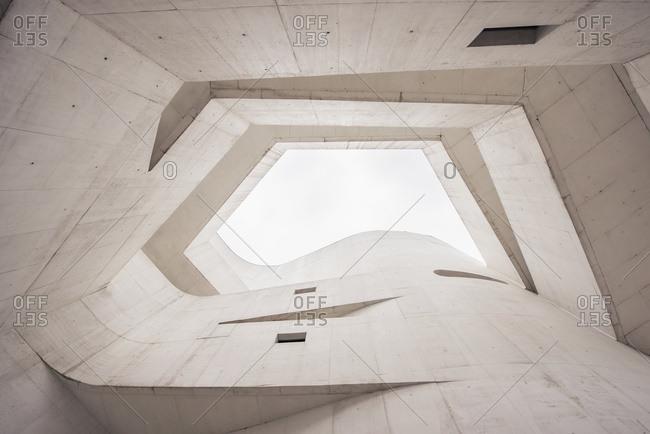 April 6, 2018: Brazil, Window In Ceiling Of Ibere Camargo Museum; Porto Alegre