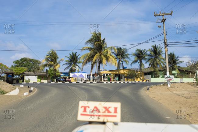 April 6, 2018: Brazil, Pernambuco, Taxi; Fernando de Noronha