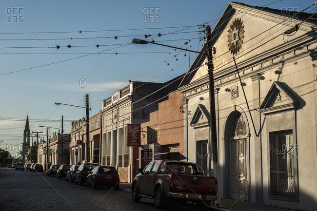 April 6, 2018: Colonial Style Houses; Jaguarao, Rio Grande Do Sul, Brazil