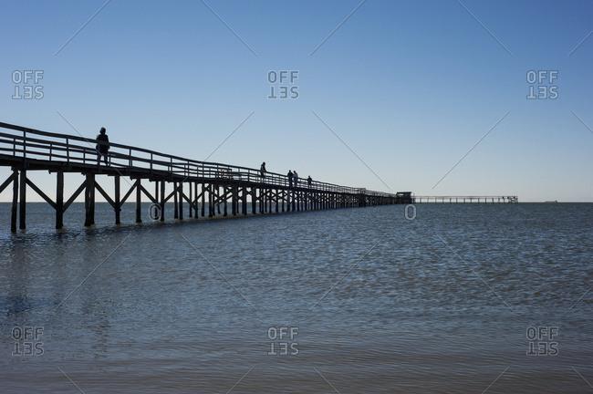 April 6, 2018: Laranjal Pier; Pelotas, Rio Grande Do Sul, Brazil