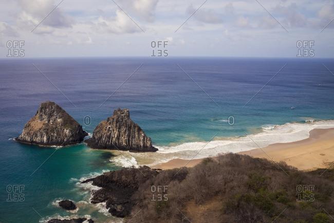 Morro Dos Irmaos; Fernando De Noronha Pernambuco Brazil