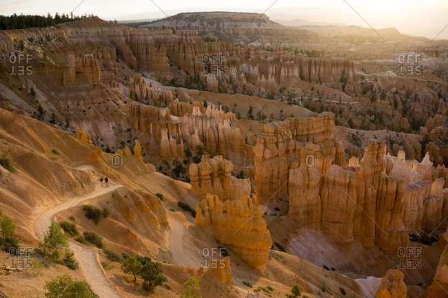 Sunset Point, Bryce National Park, Utah, United States of America, North America