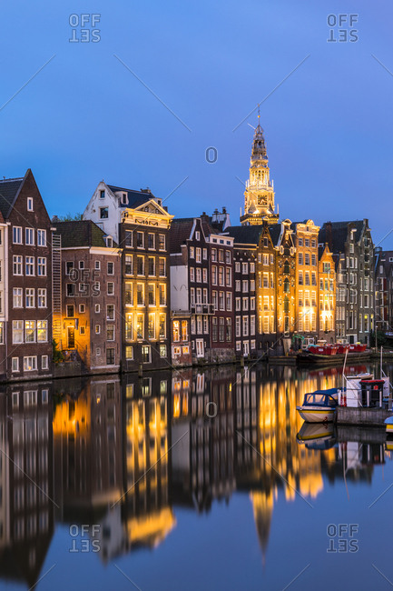 June 29, 2017: Damrak, Amsterdam, Netherlands, Europe