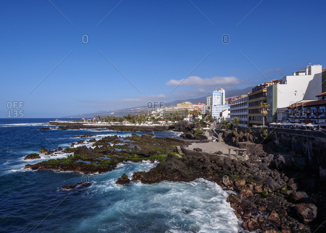March 27, 2014: Puerto de la Cruz, Tenerife Island, Canary Islands, Spain, Atlantic, Europe