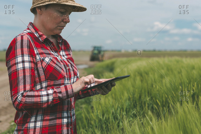 Modern technology in agriculture