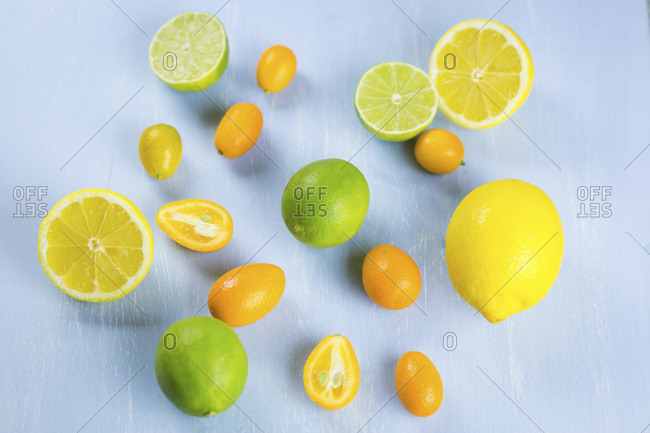 Limes- lemons and kumquats
