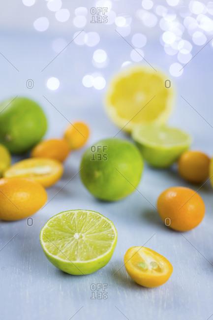Limes- lemons and kumquats