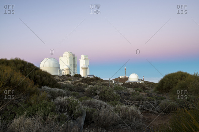 Spain- Canary Islands- Tenerife- Teide observatory