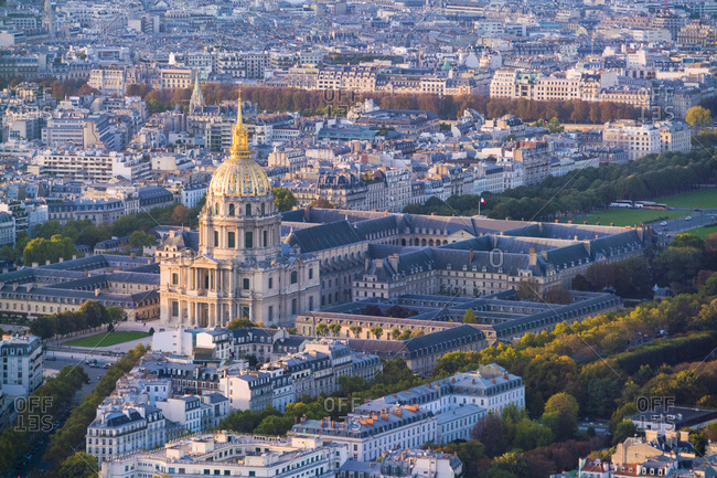 France- Paris- Les Invalides and army museums