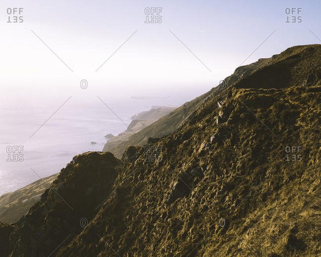 The cliffs of Sleive League.