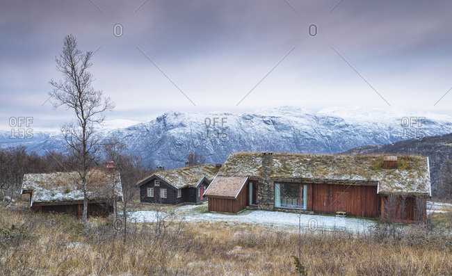 Traditional hotel in Harahorn, Norway