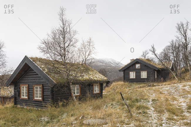 Traditional building in Harahorn, Norway