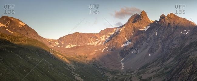 View of swiss Mountain from Muottas Muragl