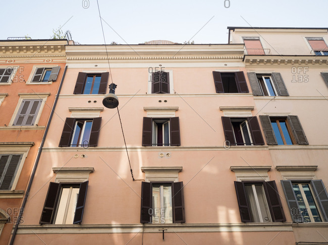 Low angle view of a building in Rome