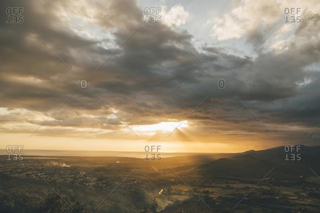 Cuba- Trinidad- Sunset