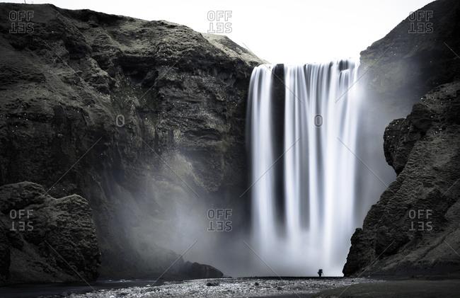 Iceland- Skogafoss Waterfall