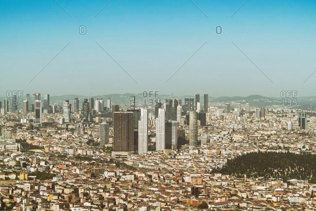 May 3, 2017: Turkey- Istanbul- Financial center