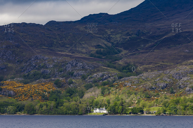 United Kingdom- Scotland- Highland- Loch Maree- Letterewe Lodge- luxury lodge