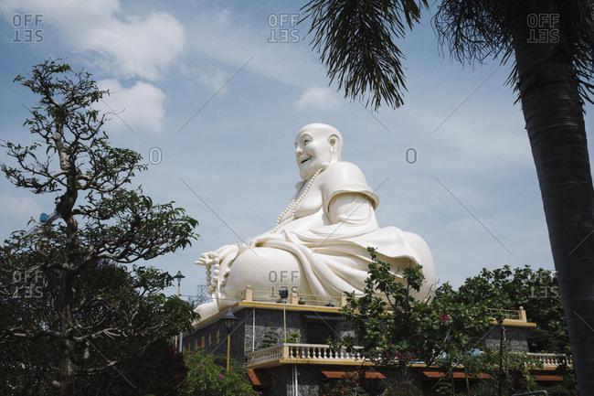 April 16, 2018 - Ho Chi Minh City, Vietnam: Vinh Trang Temple