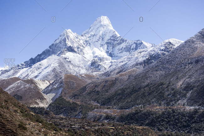 Mountains, Everest Region, Nepal
