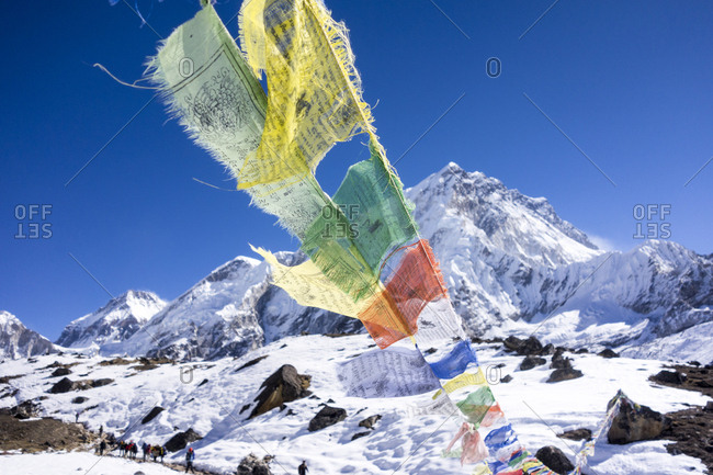 Prayer Flags, Everest Region, Nepal