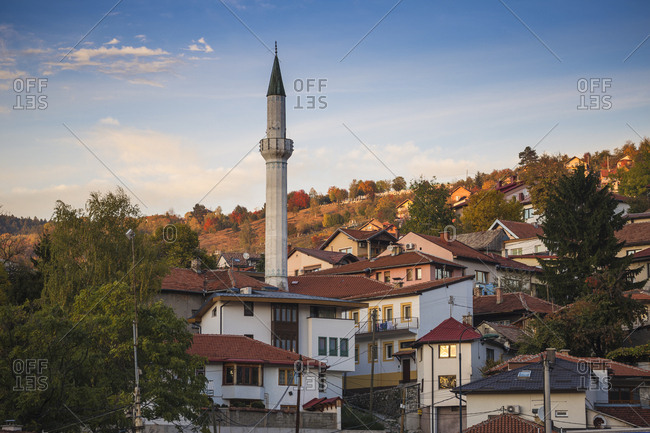 City view, Sarajevo, Bosnia and Herzegovina, Europe